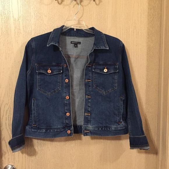 J. Crew Jackets & Blazers - J. Crew Denim Jacket   Size Medium   EUC